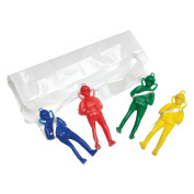 Amscan 9902007 Parachute Men Toy