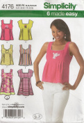 Simplicity 4176, Misses' Top, Size P5(12-20), OOP