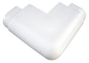 Dock Edge Air Cushion Profile Corner Outside Premium Dock Guard, White, Large