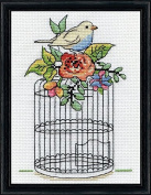 Design Works Counted Cross Stitch Kit - Birdcage