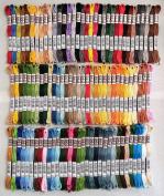 DMC Full Set 5-Strand Soft Matte Cotton Thread 10.9yd, 100 Colours