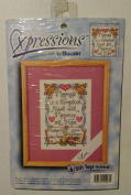 "XPRESSIONS ""MARRIAGE SAMPLER #107930cm BY BUCILLA"