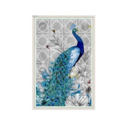 Fabal 3040cm 5D Diamond Embroidery DIY Beautiful Blue Peacock Pictures Diamond Mosaic Needlework Cross Stitch Kits Home Decor Canva