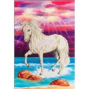 Diamond Dotz Diamond Embroidery Facet Art Kit 70cm x 60cm -Magical Unicorn
