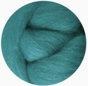NZ Corriedale Wool Roving for Felting - 30ml Teal