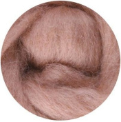 NZ Corriedale Wool Roving for Felting - 30ml Camel