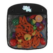 IntiPal Baby Bath Toy Storage - Bath Net Organiser for Toys with Suction - Bathroom Toys Bag 34.5cm x 41.5cm
