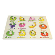 Children-Baby-Wooden-Attractive-Early-Learning-Hand-Puzzle-Fruit-Plate-Toys