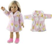 HongShun Fashion New Style Cute Fur Coat for 46cm American Girl doll