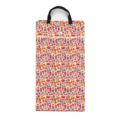 Babyfriend Cloth Nappies Waterproof Zippered Large Laundry Wet/Dry Bag with Double Handles