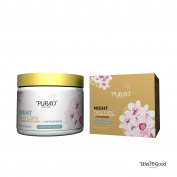 NATURAL NIGHT FACE MOISTURISER CREAM with ACTIVE MANUKA HONEY