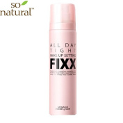 SO'NATURAL All Day Makeup Fixer 75ml / Spray type / Long Lasting product / Cosmetic
