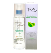 Premium Taza Natural Botanical Extract Firming Facial Toner, 8 oz (231 ml) ♦ Firmer & Refined Skin ♦ With