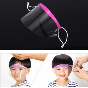 Anself 50pcs Professional Hair Salon Hairstyling Eyeprotector Transparent Face Mask Disposable Hair Face Cover