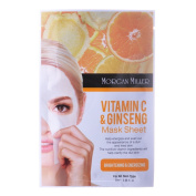 Morgan Miller Vitamin C & Ginseng Mask Sheet,1 ct