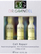 Dr. Grandel Active Ampoules CELL REPAIR AMPOULE 24 pack pro size. Fruit stem cells serum. Protects skin against light-induced ageing, care and repair of cells.