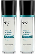 Boots No7 Protect & Perfect Intense Advanced Anti Ageing Serum Bottle - 30ml