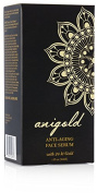Anigold Luxury Skin Care. Anti-Wrinkle Serum with Vitamin C, Hyaluronic Acid, 24kt Gold and Matrixyl 3000. 30ml