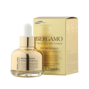 BERGAMO Luxury Gold Ampoule 30ml Moisturiser Nutrition Wrinkle Care