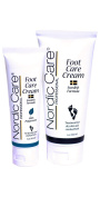 Nordic Care Foot Care Cream 180ml with Peppermint Foot Care Cream 90ml