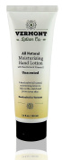 Vermont Lotion Company All Natural Unscented Hand Lotion with Shea Butter and Natural Vitamin E 100ml Tube