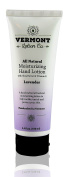Vermont Lotion Company All Natural Lavender Hand Lotion with Shea Butter and Natural Vitamin E 100ml Tube