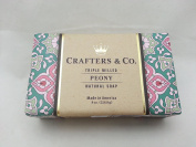 Crafters & Co. Peony Scented 240ml Bar Soap