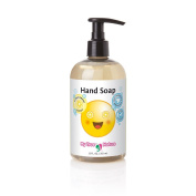 All Natural Kids Soap - Emoji Liquid Hand Soap - Citrus Scent, 350ml