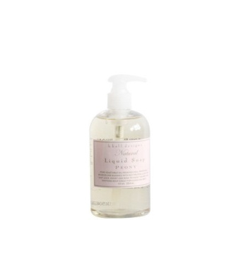 K. Hall Designs Pure Vegetable Natural Liquid Soap - Peony 350ml