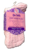 Spa Bella Women's Extra Large Cosy Socks Shea Butter Infused