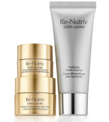 Estee Lauder Re-Nutriv 3 PC Travel Set Ultimate Lift Regenerating Youth Cream, Eye Cream, Cleanser