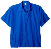 Shaving Factory Barber Jacket, Ocean Blue, Large