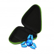 Sunfei Gift For Fidget Hand Spinner Triangle Finger Toy Focus ADHD Autism Bag Box Carry Case Packet