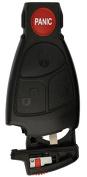 KeylessOption Keyless entry Car Remote Key Fob Shell Button Pad Battery Clip for IYZ3312