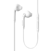 for Samsung OEM Wired 3.5mm Headset for Samsung Galaxy S7 & S7 Edge, Bulk Packaging - White