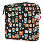 Zicac Owl Printed Dismountable Kids Baby Toddler Infant Harness Cushion Dining Chair On the Go Seat Highten Pad Travel Storage Chair