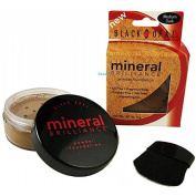 Black Opal Mineral Brilliance Powder Foundation-MEDIUM DARK