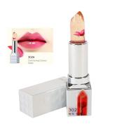 Hanyia Jelly Flower Lip Gloss Lipstick Nonstick Temperature Colour Changing Long Lasting Moist Lip Balm