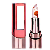 Jelly Lipstick Richoose Long Lasting Colour Change Moisturise Gloss Flower Professional Bright Surplus Lips Cosmetic With a beautiful mirror for Fashion Women