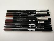 Cameo Cosmetics Makeup Long Eye/Lip Liner Pencil Set, 10 Piece
