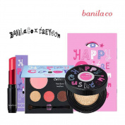 [Banila Co.] Banila co x Teayeon Happy Collection/ Satin Lipstick, CC Cushion SPF50+ PA+++, Shadow SPK501 SNSD