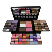 MISKOS 74 Colours Combination 36 Colours eyeshadow + 16 Colours Lipstick + 12 Glitter Creams + 4 Concealers +3 Blushers + 1 Contour