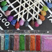 Wholesale 16 bags/lot Nail Art Glitters Laser Decoration Magic Glimmer Powder Dust Woman Make up Tools L01-16