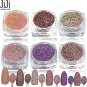 1.5g Optional Nail Art Glitter Beauty Dust Powder 3D Tips Sugar Manicure Tools Dazzling Nail DIY Pearl Tips Decor 525-530