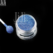 1g Nail Art Glitters New Holographic Shiny Laser Blue Dust Power Full Cover Glitter Easy Use Tools L10