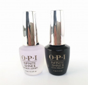 Beauty Popular Perfect Duo Primer Base and Gloss Top Coat Gel Nail Polish Lacquer Infinite Shine Collection Ultra Shades Nails Salon Verity Gelish Volume 0.5oz or 15mL for 2ct per Set