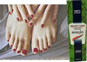 Masglo Unas saludables. Ayuda a combatir bacterias y hongos en las unas./ Healthy nails. Helps keep your nails naturally healthy.