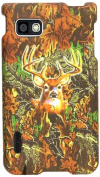 Cell Armour Snap-On Cover for LG Optimus F3 - Retail Packaging - Hunter Series with Deer