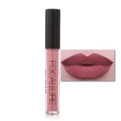 Women Cosmetics Matte Lip Gloss & Metallic Lip brillant Moisturising Long-lasting Lustre Lipstick