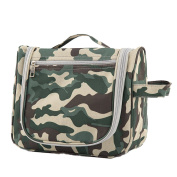 AoMagic Camouflage Men's and Women's Big Capacity Toiletry Green Bag